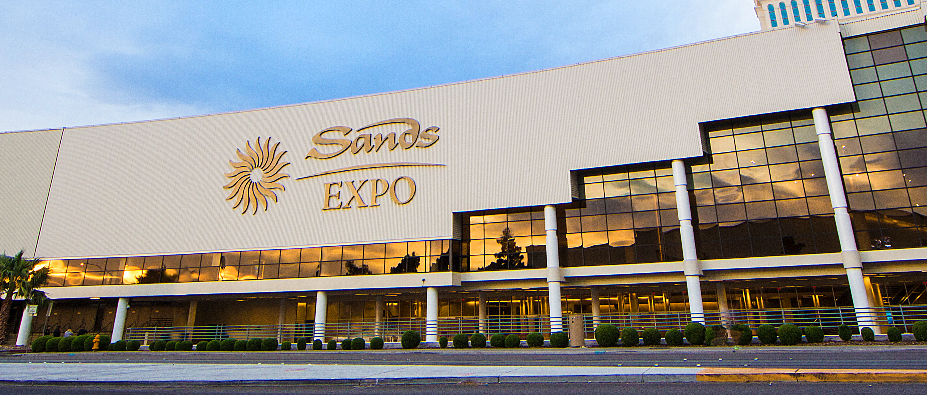 exhibition venue sands expo - schedule, address, location, space rental